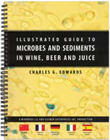 Illus. Guide to Microbes & Sediments in Wine, Beer & Juice