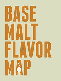 Base Malt Flavor Map (unfolded)