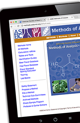 asbc methods of analysis pdf