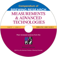 Measurements & Advanced Technologies: Compendium of Brewing Research CD-ROM (Single-User License)
