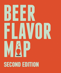 Beer Flavor Map, Second Edition (unfolded)